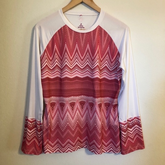 Prana Tops - Prana • Long Sleeve Athletic Shirt • Size L